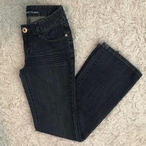Guess Flare Jeans Size 26 Medium Wash